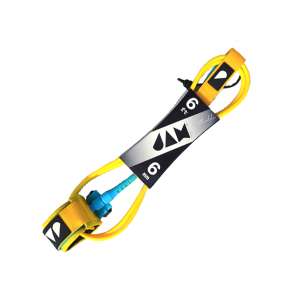 Yellow/Blue Shredder Leash