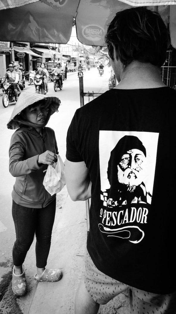 t-shirt pescador